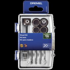 Dremel Micro Kit para Madera 733