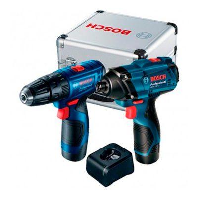 Combo Bosch Taladro Atornillador GSR 120 + Impacto GDR 120